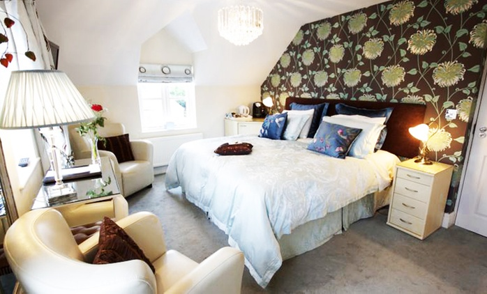 Newport: 1 to 3 Nights for Two with Breakfast and Optional Dinner at 5* Y Garth Luxury Bed and Breakfast