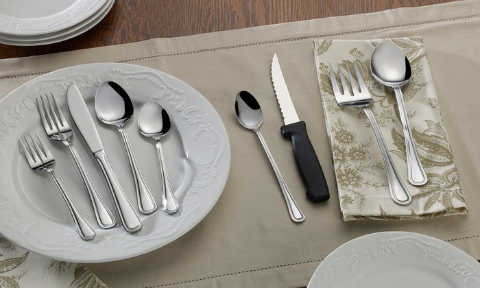 Pfaltzgraff Everyday Rockport Flatware (86-Piece)