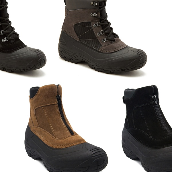 Off on London Fog Men's Winter Boots