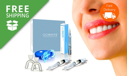 Free Shipping: From $49 for 2 GoWhite Teeth Whitening Kits or 4 GoWhite Teeth Whitening Pens (Dont Pay Up to $977.60)