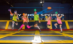 Up to 42% Off Weekday or Weekend Jump Time at Sky High Sports at Sky High Sports, plus 6.0% Cash Back from Ebates.