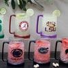 NCAA 16oz. Crystal Freezer Mugs