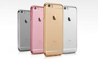 Ultra-Thin Slim Electroplated Crystal Case for iPhone 6/6S or 6/6S Plus in Choice of Colour for AED 39 (65% Off)