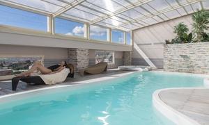 Spa Oro Quotidiano: Spa privata di coppia, vino e massaggi alla Spa Oro Quotidiano presso Hotel Donatella, Imola centro (sconto fino a 73%)