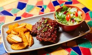 Blue Cactus: Meksykańska kolacja dla dwojga (od 89,99 zł) lub dla 4 osób (od 179,99 zł) w Blue Cactus (do -37%)