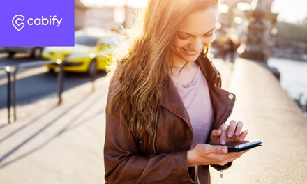 Obtén 10 € o 20 € de crédito para próximos viajes en Cabify