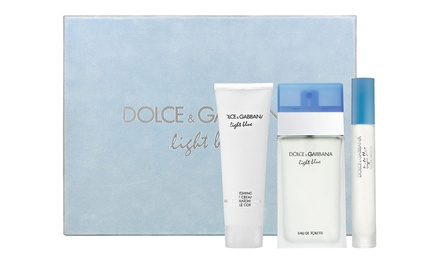 Dolce & Gabbana Light Blue Women's 3-Piece Fragrance Gift Set
