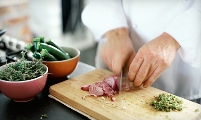 The BlueBurner - Clinton: Three- to Four-Hour Cooking Class for One or Two at Cooking (Up to 60% Off)
