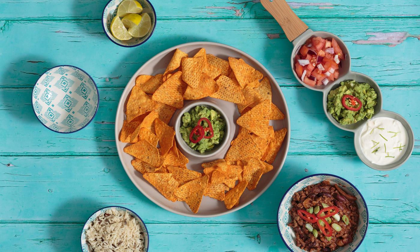 Typhoon World Foods Chip and Dip Bowl