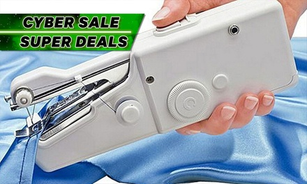 Portable Handheld Cordless Electric Sewing Machine: One ($15) or Two ($26)