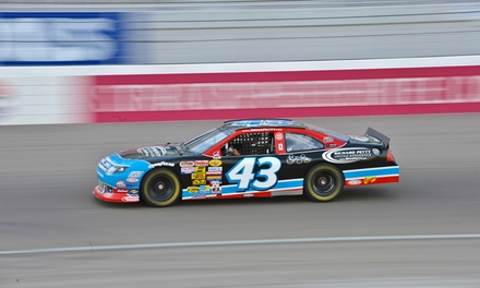 Richard Petty Driving Experience Ride or Drive at Charlotte Motor Speedway (Up to 56% Off)