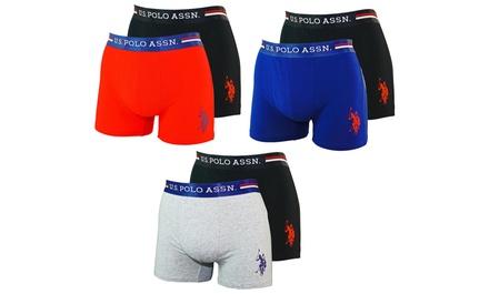 Lot de 2 ou 4 boxers U.S. Polo ASSN