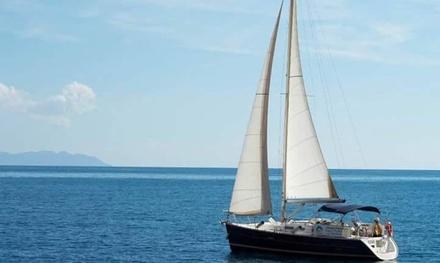 Ruta marítima de 2 horas en velero a elegir entre dos opciones por 100 € en Dragon Sailing