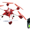 SkyRover Zenon Helicopter and Hexa Camera Drone