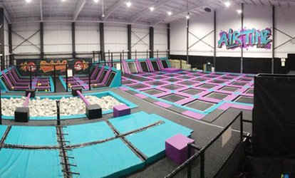 One-Hour Bouncing Session for Up to Four at Airtime Halifax (50% Off)