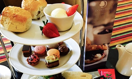 Afternoon Tea with Optional Champagne for Two at DoubleTree by Hilton *