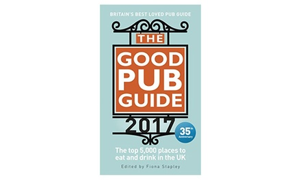 Good Pub Guide 2017 for £10.98
