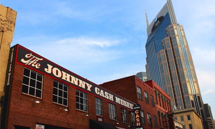 General Admission for Two or Four to The Johnny Cash Museum (Up to 55% Value)
