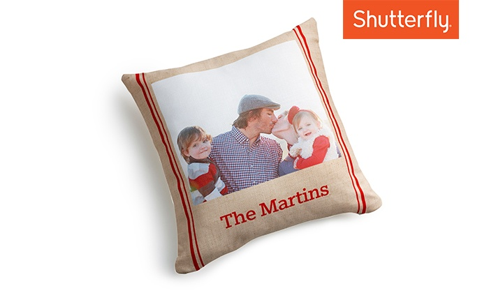 Shutterfly: Custom 16x16 Indoor Pillow or 20x20 Outdoor Pillow from Shutterfly (Up to 67% Off)