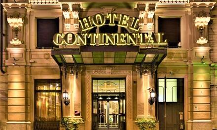 Genova: camera doppia con colazione e cena opzionale + Spa per 2 Hotel Continental Genova