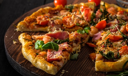 Large Pizza or Burger with Wine, Beer or Cocktail for Two or Four at Funky's Bar and Grill Llandudno