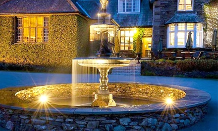 Lake District: 1 Night with Breakfast, FourCourse Dinner, Cream Tea and Spa Access at 5* Broadoaks Country House