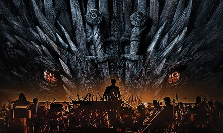 Game of Thrones Live Concert Experience – Music by Ramin Djawadi on October 3 at 8 p.m.