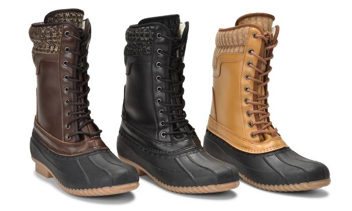 All-Weather Boots | (Size