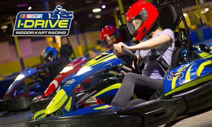 Up to 40% Off at I-Drive NASCAR Indoor Kart Racing ...