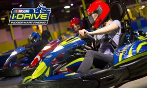Up to 45% Off at I-Drive NASCAR Indoor Kart Racing at I-Drive NASCAR Indoor Kart Racing, plus 6.0% Cash Back from Ebates.