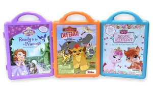 Disney Book and Magnetic Playset Boxed Set (3-Pack)
