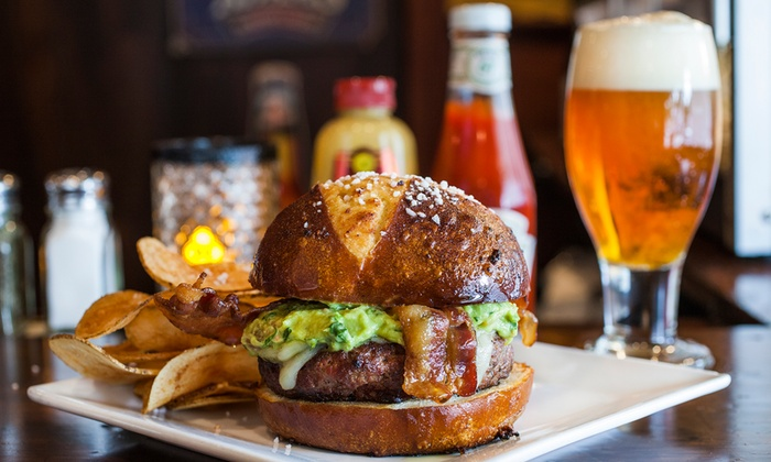 Cloverleaf Tavern - Cloverleaf Tavern: Burgers and Pub-Style Dinner Cuisine for Two or Four at Cloverleaf Tavern (Up to 42% Off)