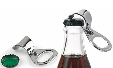 One or Two Stainless Steel Bottle Opener