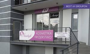 Studio Urody Ametyst: Zabieg pielęgnicą (29,99 zł) ze strzyżeniem (49,99 zł) oraz koloryzacją (129,99 zł) w Studiu Ametyst w Rybniku