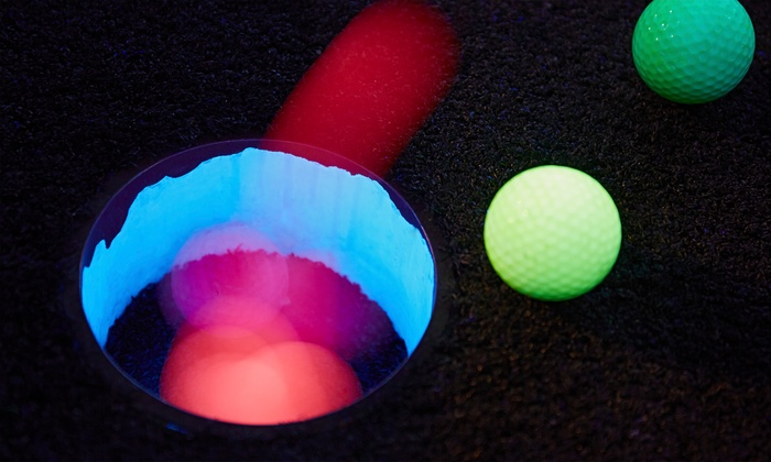 Up To 60 Off Blacklight Miniature Golf
