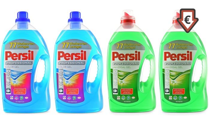 Persil Color oder Universal Gel für 144 oder 288 WL