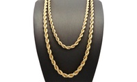 English Rope Chain Necklace...