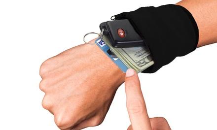 Zipper Safe Non-Slip Wrist Wallet