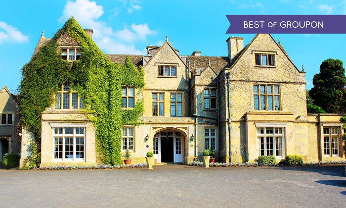 The Greenway Hotel Spa Cheltenham Cotswolds 1 Night For 2 With Breakfast