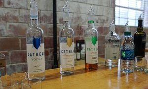 Cathead Distillery: Tour with Tastings, a Shot Glass, and a Beer for 2, 4, or 10 at Cathead Distillery (Up to 61% Off)