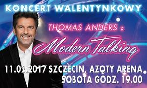 Thomas Anders & Modern Talking Band: Bilet na koncert Thomasa Andersa i Modern Talking Band za 109 zł w hali Azoty Arena (zamiast 159 zł)