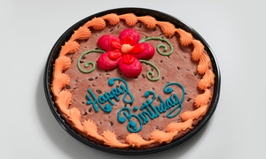 "All Good Things: 13"" Cookie Cake or Full-Sheet Cookie Cake at All Good Things (Up to 47% Off)"