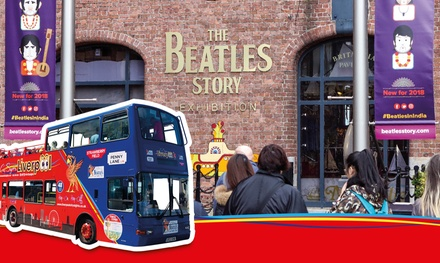 Live Guided City & Beatles Tour and Beatles Story Exhibition Entry with Liverpool City Sights
