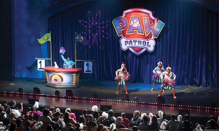 Paw Patrol Live!: Race to the Rescue on Saturday, February 17, or Sunday, February 18