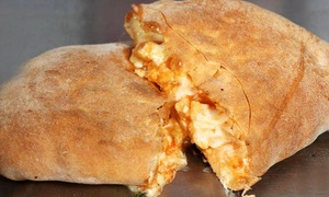 D.P. Dough UGA: Calzones, Tots, and Wings at D.P. Dough (Up to 40% Off)