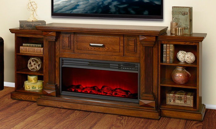 36 Quot Or 48 Quot Infrared Fireplace Groupon Goods