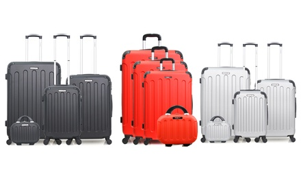 Set di 4 trolley Madrid BlueStar