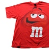 Men's M&M Jumbo Fade Character T-Shirts (Size L)