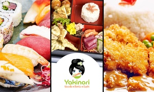 Yakinori: Japanese Meal for One, Two or Four at Yakinori, Bristol