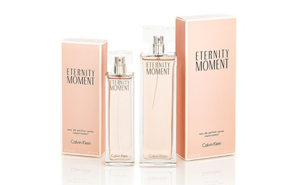 Eternity Moment by Calvin Klein Women's Eau de Parfum; 50mL or 100mL from $27.99–$32.99